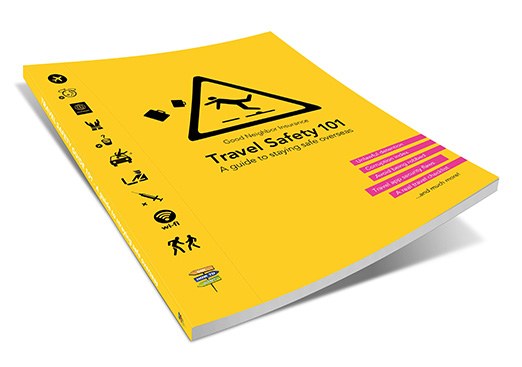 Cover - Get this Free Travel Safety Guide before going overseas