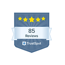 small Trustspot review badge